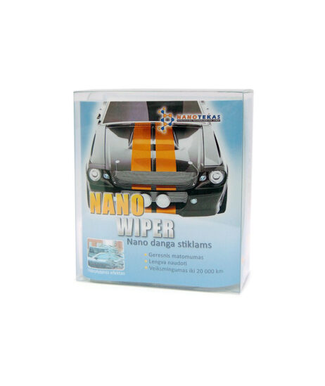 nano danga automobilio stiklams nano wiper