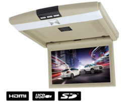 "MR1002BG lubinis monitorius 10"" USB, SD pilkas"