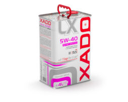 XADO alyva Luxury Drive 5W-40 Synthetic 4 litrai